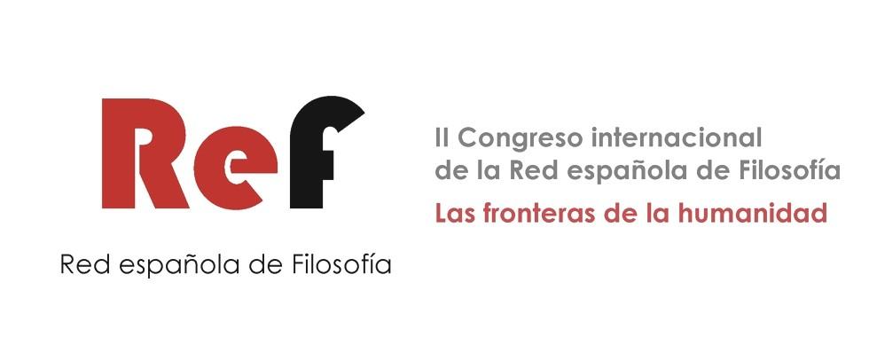 II Congreso internacional de la Red española de Filosofía
