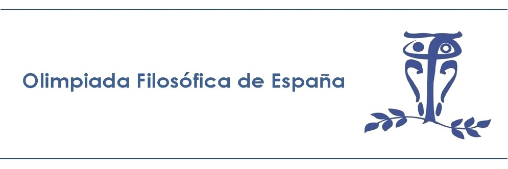 V Olimpiada Filosófica de España
