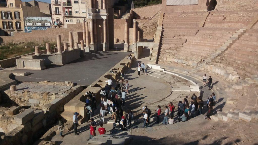 12.Visita_al_Teatro_romano_de_Cartagena