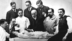 Ramon-y-Cajal-clase-de-anatomia