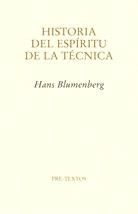 H.Blumenberg_Historia_espiritu_tecnica