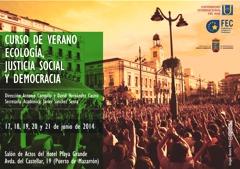 CursoVerano-EcologíaJusticiaSocialyDemocracia