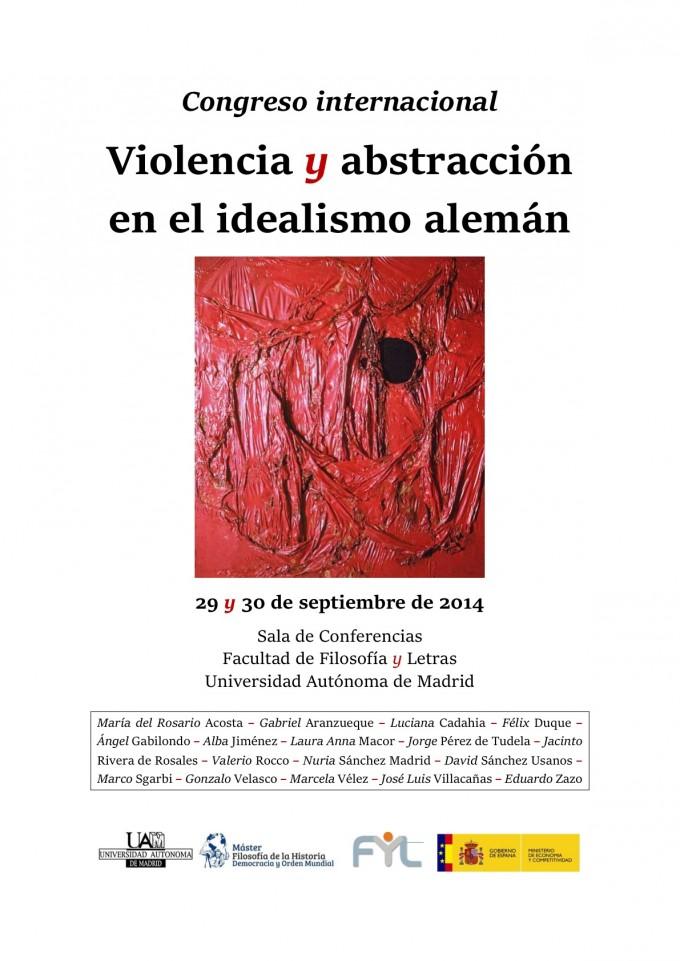 Cartel Violencia y abstracción