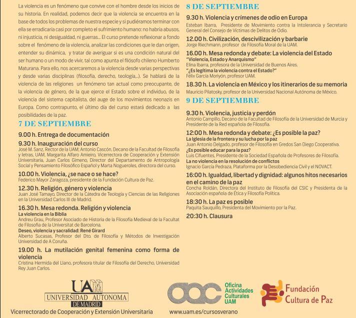 """Curso """"La violencia y sus formas"""" de la Universidad ... - photo#15"""