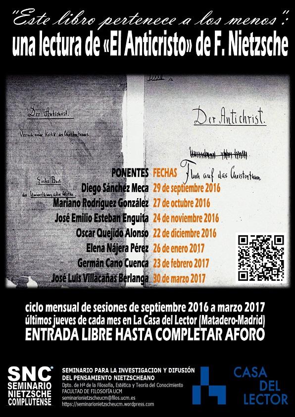 cartel MATADERO 2016-17-001