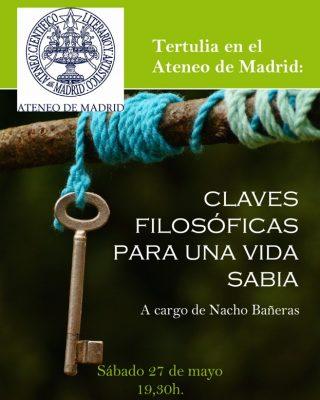 Charla Ateneo Madrid